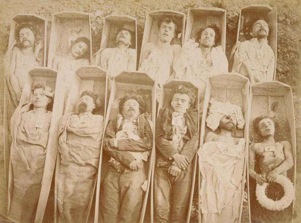 Insurgés tués pendant la Semaine sanglante de la Commune