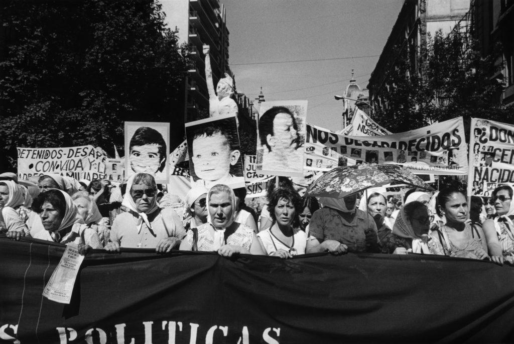 Niños desaparecidos. Segunda Marcha de la Resistancia