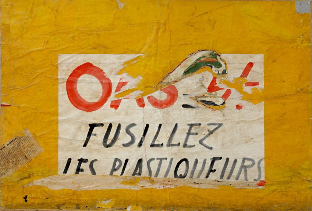 OAS. Fusillez les plastiqueurs